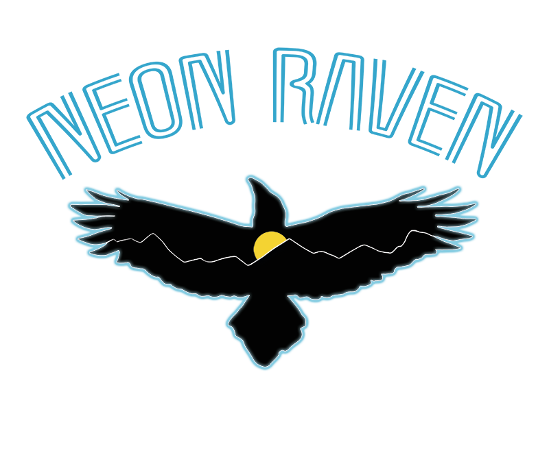 neon raven story labs logo